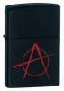 Zippo Anarchy Black Matte lighter (model 20842)