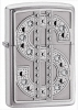 Zippo Bling Emblem lighter 20904 Lifetime Guarantee