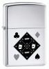 Zippo World Poker Tour High Polish Lighter 20986