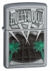 Zippo Hollywood palm trees lighter (model 21056)