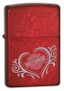 Zippo HARLEY HEART CANDY APPLE RED - 21079