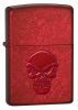 Zippo Doom Candy Apple Red Lighter 21186