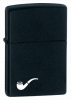 Zippo Black Matte Pipe Lighter 218PL Windproof