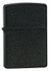Zippo Black Crackle Lighter Z236 Windproof Lid