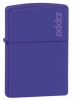Zippo Purple Matte Zippo Logo Lighter (Model 237L)