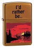 Zippo Outdoor Escape Toffee lighter (model 24067)