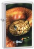 Zippo Claudio Mazzi 24446 Brushed Chrome Snake Lighter