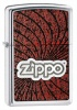 Zippo Spiral polish chrome lighter (model 24804)