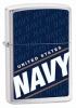 Zippo U.S. NAVY/ BRUSHED CHROME - 24813
