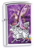 The Zippo Zodiac Taurus Stunning Purple Lighter