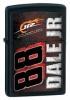 Zippo DALE JR # 88 BLACK MATTE - 24997