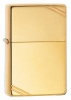 Zippo Z270 High Polish Brass Vintage Lighter