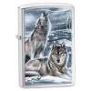 Zippo Claudio Mazzi Wolf Winter 28002 Windproof Lid
