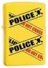 Zippo Caution lighter (28060)Lemon Finish