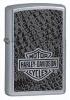 Zippo Harley Street Davidson Chrome Lighter 28084