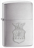 Zippo 280AFC Brushed Chrome Air Force Crest Lighter