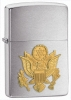 Zippo Army Emblem Lighter ZO10580 Gold Tone Eagle