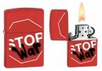 Zippo STOP WAR RED MATTE - 28140