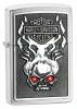 Harley Davidson Red Crystal Chrome Lighter 28267