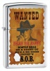 Zippo WANTED POSTER - 28289