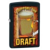 Zippo  I  SUPPORT THE DRAFT  - 28294
