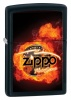 Zippo Motorsports Flame Jet Black Lighter 28335