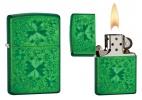 Zippo MEADOW GREEN CLOVER - 28354