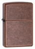 Zippo Antique Copper 301FB Rustic Wind Proof Lighter