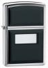 355 Ultralite Polished Chrome Black Emblem Lighter