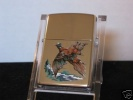 Zippo 755 High Polish Chrome Pheasant Windproof Lid