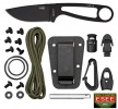 ESEE BLK KNIFE W SURVIVAL KIT - IZULA-B-KIT