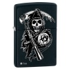 Zippo SONS OF ANARCHY BLACK MATTE - 28504