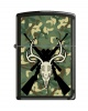 Zippo DEER SLAYER BLK CAMO RIFLES - 21064CR