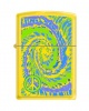 Zippo 24839 Tye Dye with Small Peace Sign Symbols