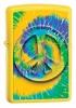 Zippo Tye Dye #4/ Large Peace Symbol