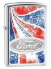 Zippo Ford High Polished Chrome Windproof Lighter