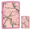 Zippo Realtree APG Pink Matte Lighter (model Z28078)