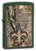 Zippo Realtree New Orleans Saints Lighter 28112