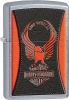 Zippo ST CHRM RED/BLK RIDE FOREVER - 28823