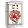 Zippo BRSH CHROME/RETRO POKER CHIP - 28831