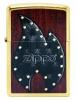 Zippo GOLD DUST/BLACK FLAME/ ZIPPO - 28832