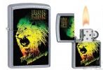 Zippo ST CHRM IRON LION BOB MARLEY - 28844