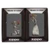 Zippo DAY OF DEAD SKULLS SET - 28987