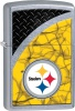 Zippo NFL STEELERS STREET CHROME - 29375