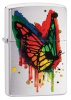 Zippo BUTTERFLY-BRUSHED CHROME - 29392