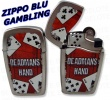 30051 Blu Poker Deadmans Hand Twin Pair Card Lighter