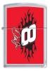 #8 Sideways Flames Street Zippo #M1012