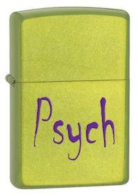 Zippo Psych Lurid lighters 24734