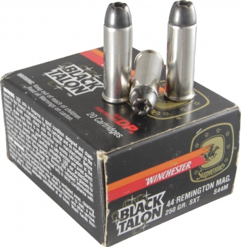 Black Talon 44 Remington Mag 250 Gr. SXT Ammo S44M - 20 Rounds