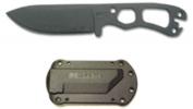 Becker 11 Black Fixed Neck Knife